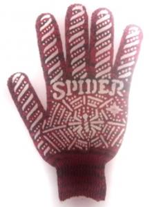 """Перчатки """"Spider"""" с ручным оверлоком"""